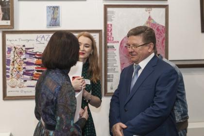 Открытие выставки «История татарского театра в афишах и плакатах»