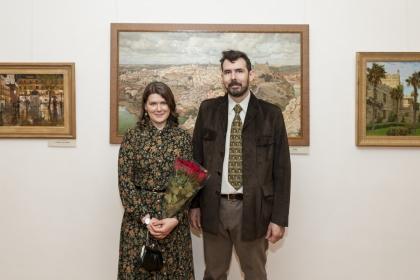 Презентация выставки Анатолия Коробкина «Пробуждение» в рамках проекта ГБУ «МДН»