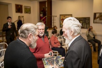 Презентация юбилейной персональной выставки Кима Ивановича Шихова.