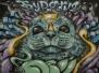 Работы победителей конкурса граффити IX фестиваля «Разноцветная Москва»