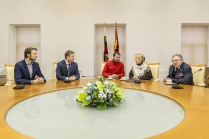 Рабочая встреча с участницей Автопробега Берлин-Москва