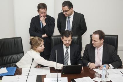 Федеральное агентство по делам национальностей. Заседание рабочей группы по подготовке XXII Межправительственной