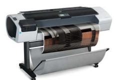 Струйный плоттер HP Designjet T1200