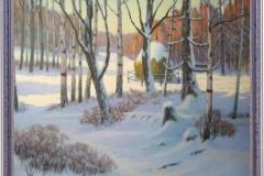 Кирсанов Н.А. Зима, холст, масло, 60х80_1