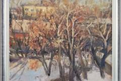 Жесткова Н. Весенние деревья Холст, масло 70х100_1