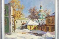 Зимина Н.Ю  Тайный дворик Холст, масло 60х80_1