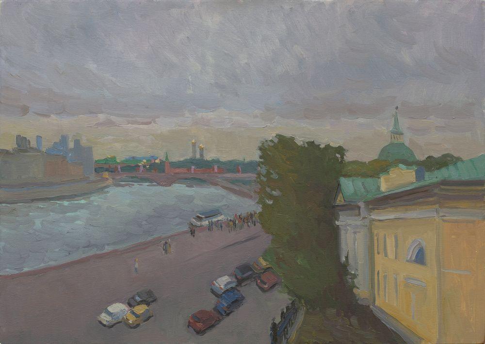 Москва с Устьинского моста