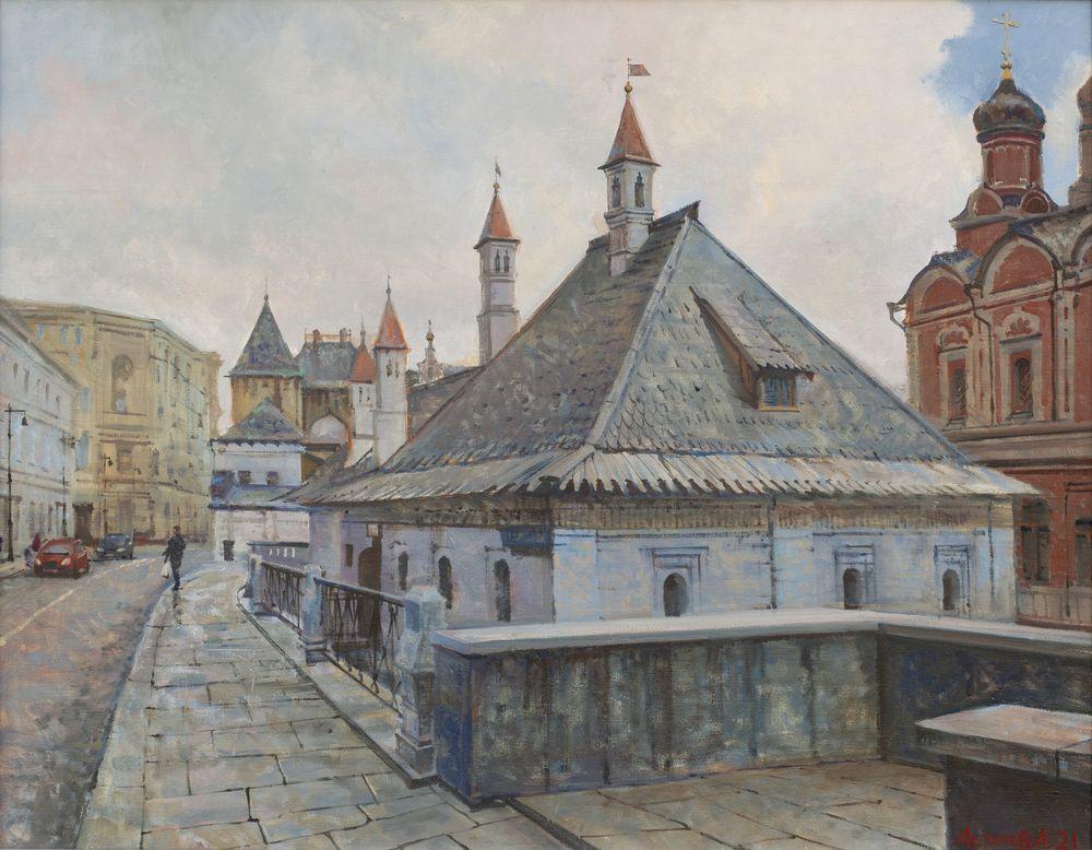 Палаты бояр Романовых. Братский корпус