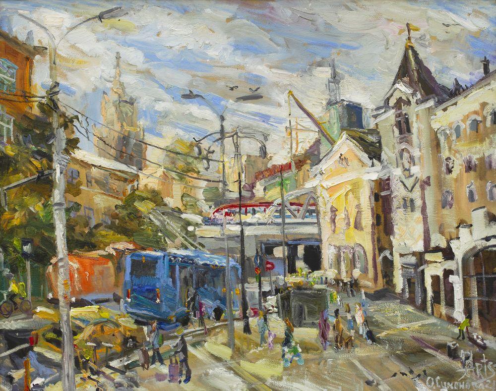 На площади Казанского вокзала