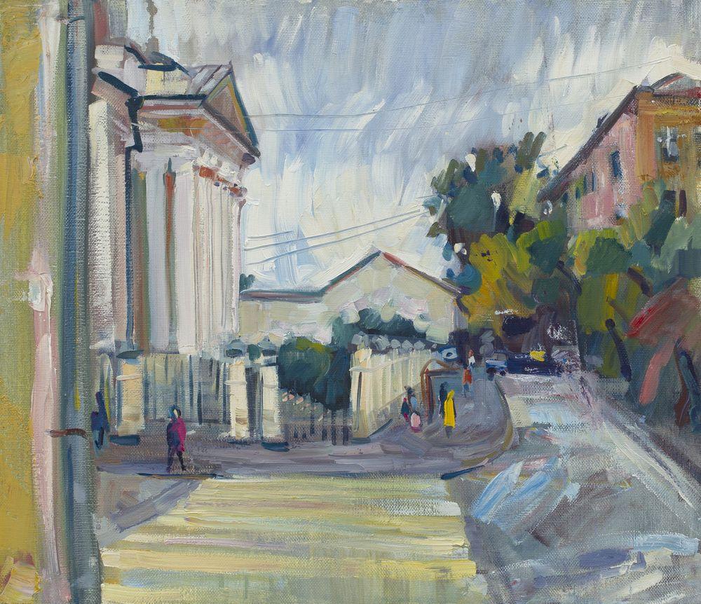На улице А.И. Солженицина