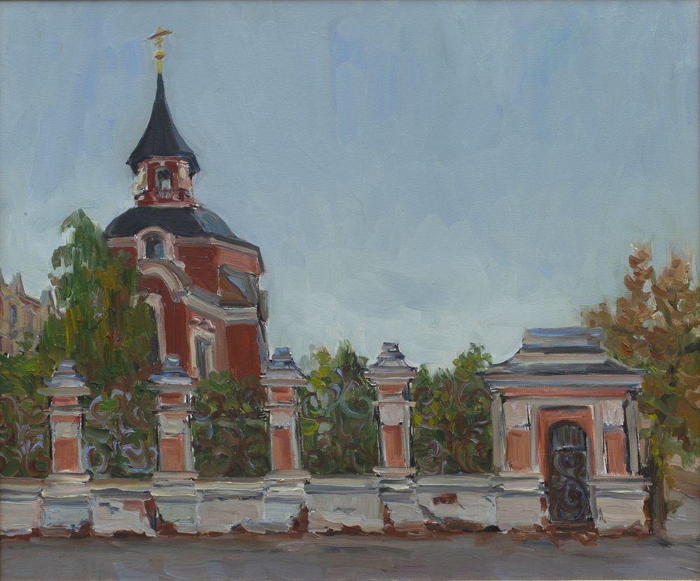 У Петропавловской церкви