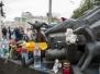 Церемония возложения цветов к памятнику жертвам террористического акта