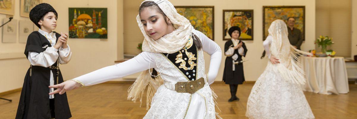 Праздник «Навруз» в Московском доме национальностей