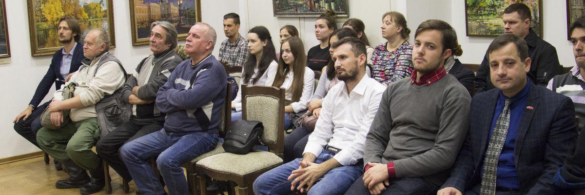 Заседание молодежного дискуссионного клуба в рамках проекта ГБУ «МДН»