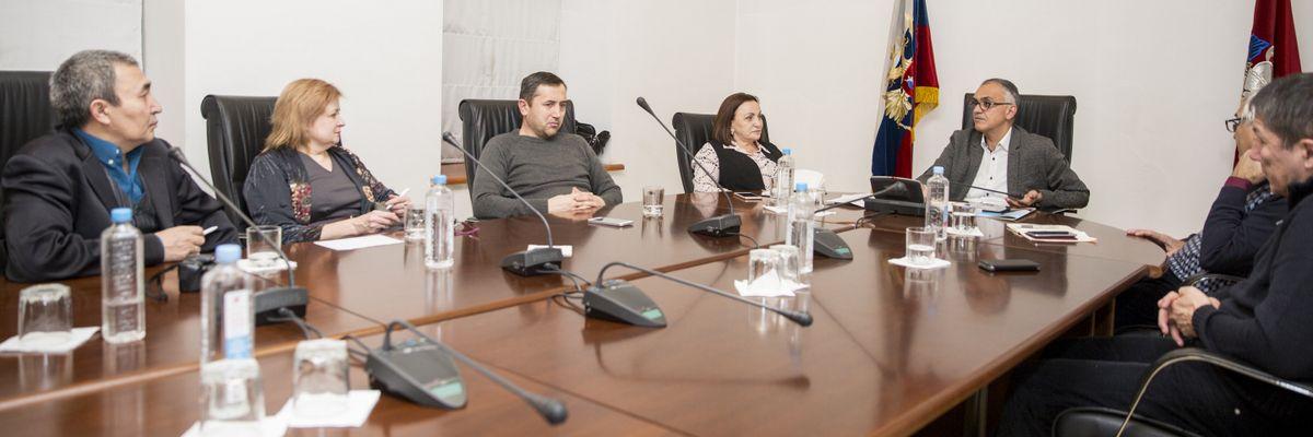Комиссия по информационной политике Совета по делам национальностей при Правительстве Москвы