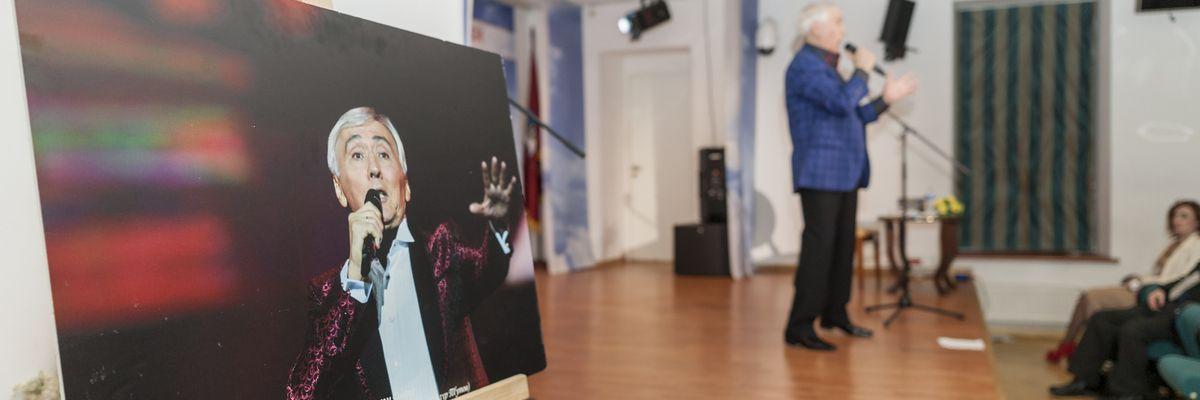 Творческая встреча с деятелем культуры и искусства, народным артистом России Зауром Тутовым в рамках проекта ГБУ «МДН»