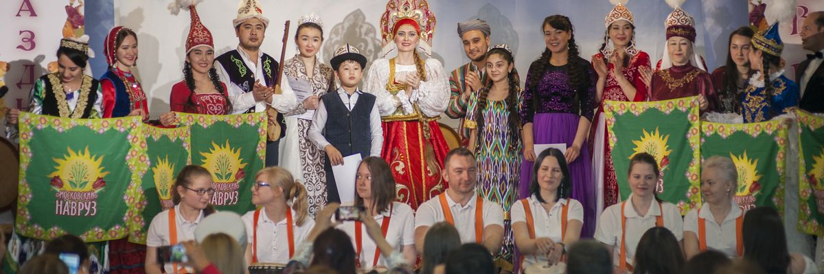 Концертная программа «Здравствуй, Навруз» в рамках проекта ГБУ «МДН»
