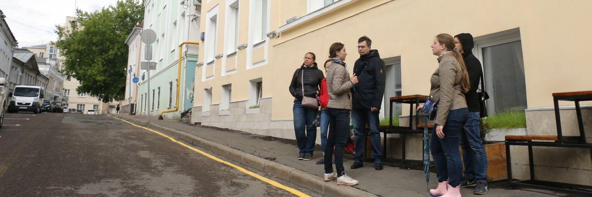 Экскурсия-квест по Хитровке-Ивановской горке в рамках проекта ГБУ «МДН»