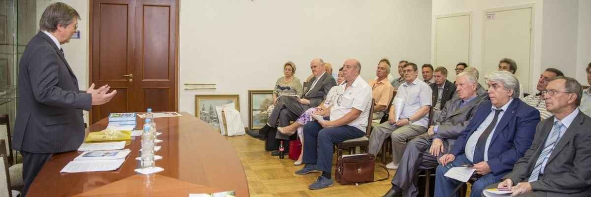 РОО «Землячество Донбассовцев». Заседание Правления