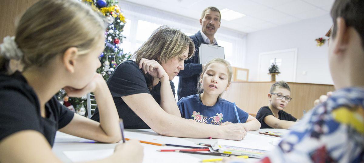 Новогодняя образовательно-развлекательная программа для детей. День 3