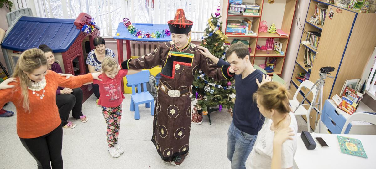 Новогодняя образовательно-развлекательная программа для детей. День 4