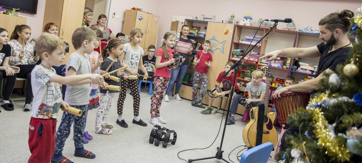 Новогодняя образовательно-развлекательная программа для детей