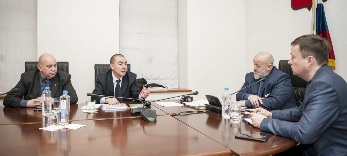 Комиссия по общественной безопасности и народной дипломатии. Совета по делам национальностей при Правительстве Москвы. Заседание