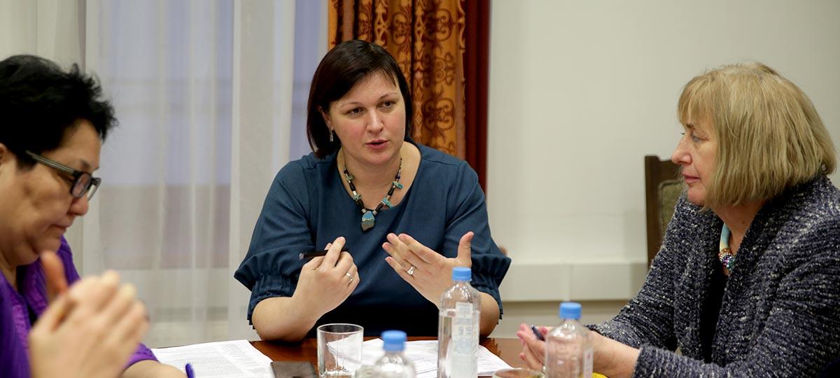 Комиссия по образованию и науке Совета по делам национальностей при Правительстве Москвы. Заседание