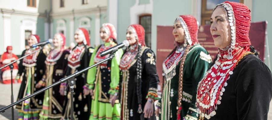 Концертная программа «Этнический процесс» в рамках проекта ГБУ «МДН»