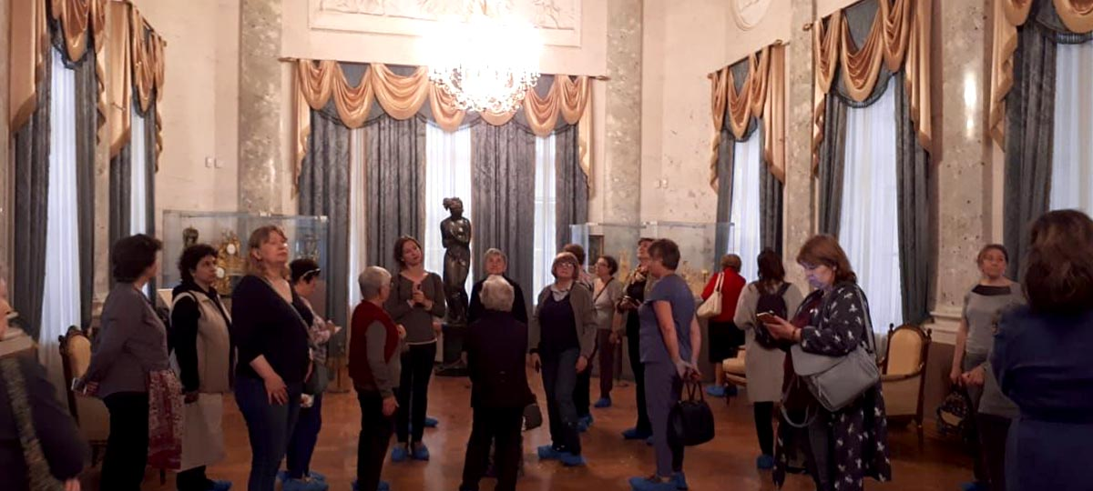 Экскурсия «Прогулки по Москве. Театр в московском дворце Люблино» в рамках проекта ГБУ «МДН»