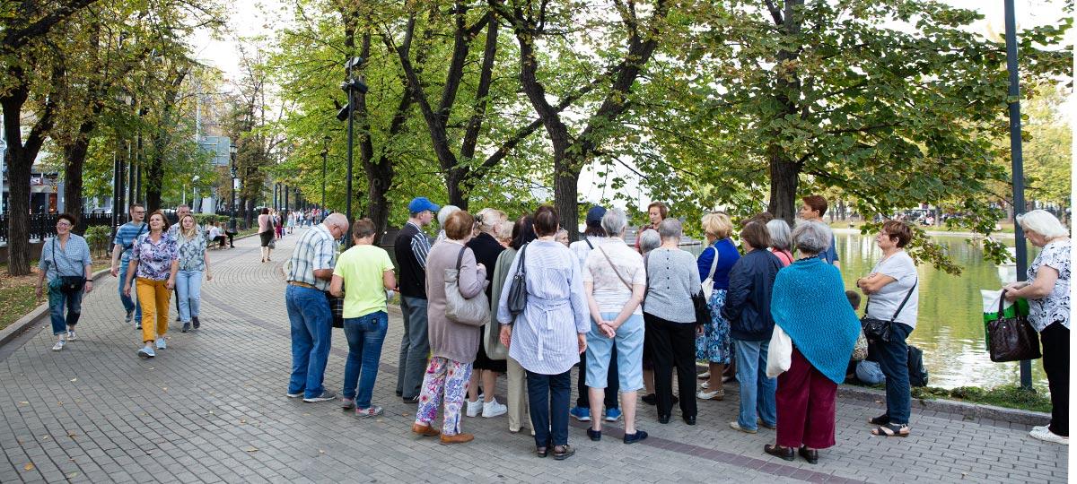 Экскурсия «Прогулки по Москве. Тайны и легенды Бульварного кольца» в рамках проекта ГБУ «МДН»