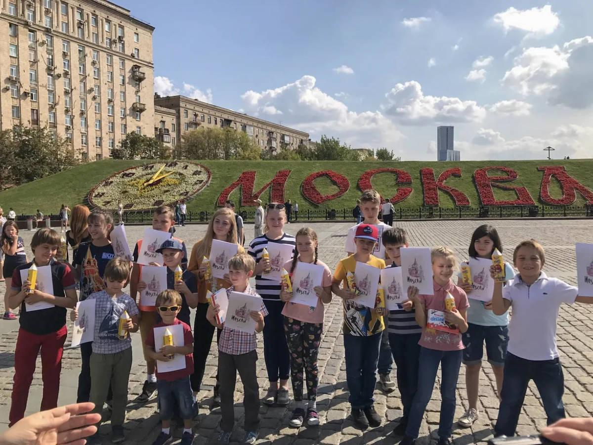 Автобусная экскурсия «Посвящение в юного москвича» в рамках проекта ГБУ «МДН»