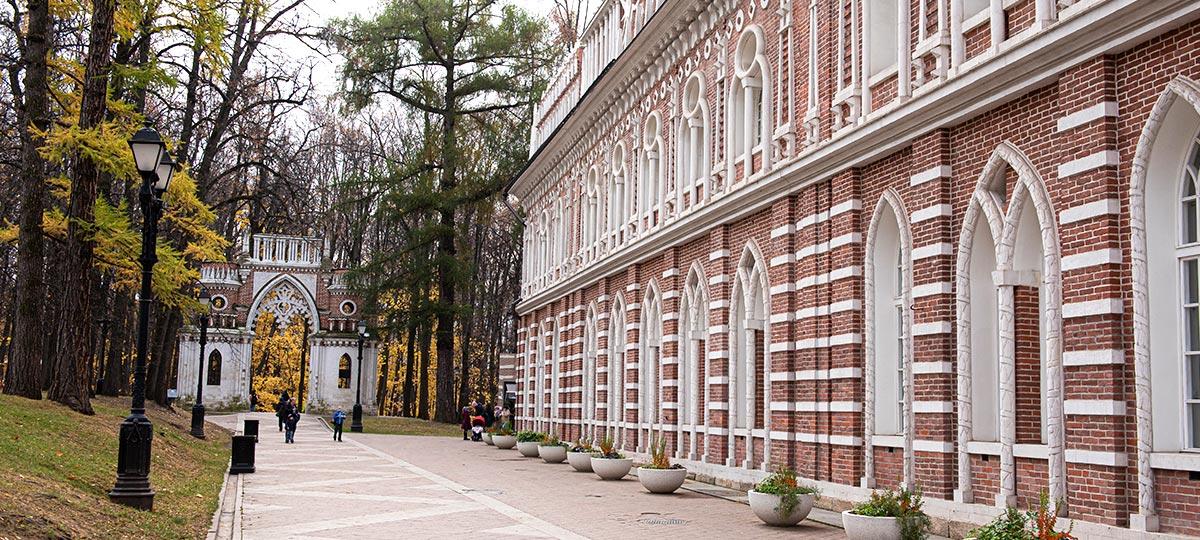 Экскурсия «Прогулки по Москве. Времена Екатерины – парк Царицыно» в рамках проекта ГБУ «МДН»