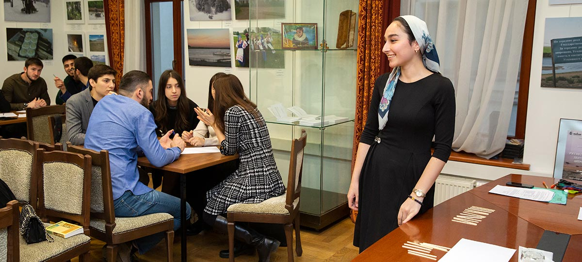 АНО «Союз чеченской молодежи». Интеллектуальная игра «Brain Ring» среди студентов ВУЗов г. Москвы»