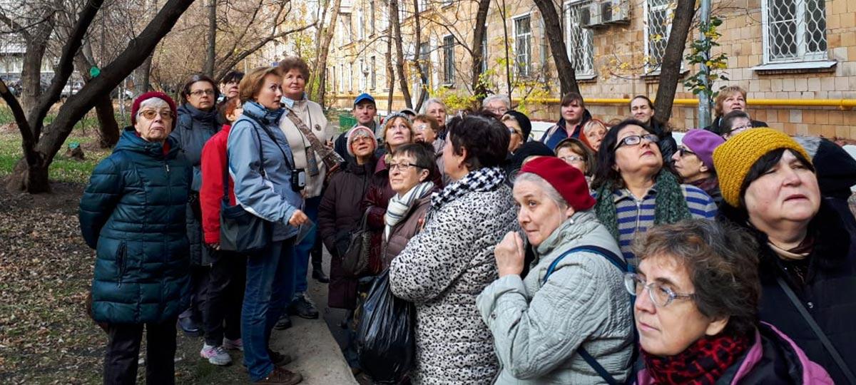 Экскурсия «Прогулки по Москве. Вокруг промышленной Каланчевки» часть 1 в рамках проекта ГБУ «МДН»