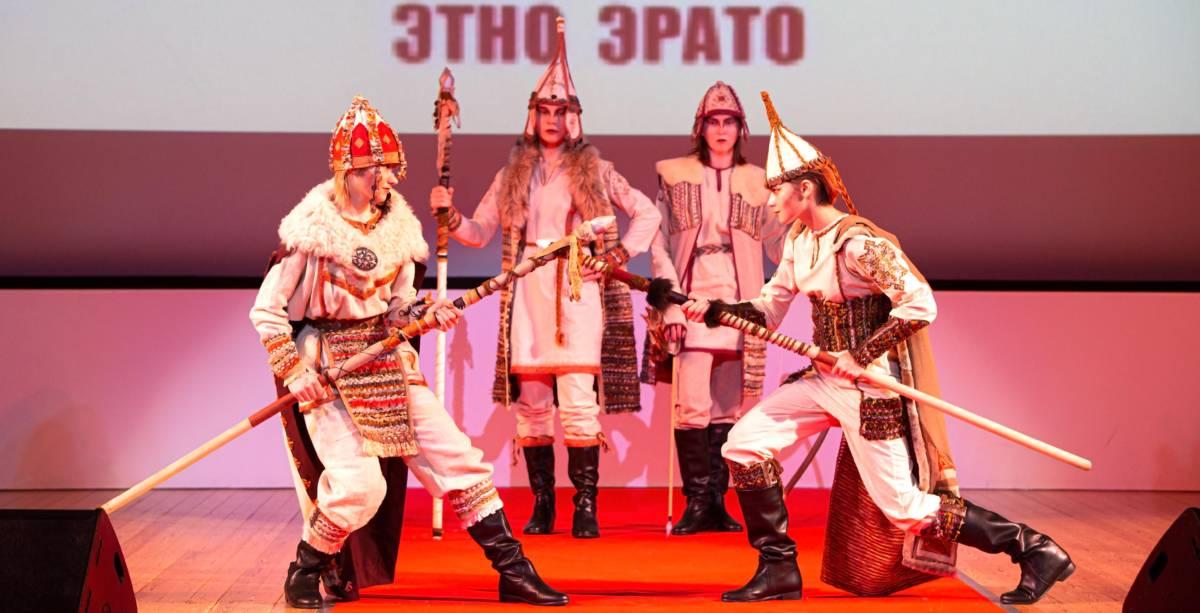 РОО «Форум женщин ЕврАзии». Гала-концерт XIX Евразийского конкурса высокой моды национального костюма «Этно-Эрато»