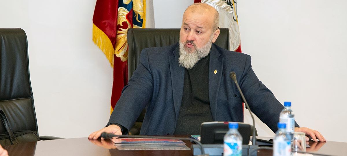Комиссия по общественной безопасности и народной дипломатии Совета по делам национальностей при Правительстве Москвы. Заседание