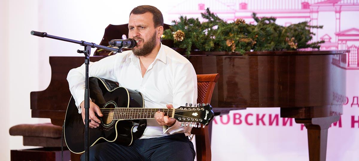 МОО «Союз гагаузов». Творческий вечер автора и исполнителя православных песен Валерия Кристева