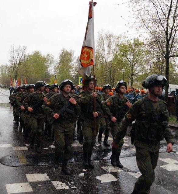 Общероссийское общественное объединение «Российский корпус пожарных и спасателей». Выставка плакатов «18-я отдельная гвардейская разведрота»