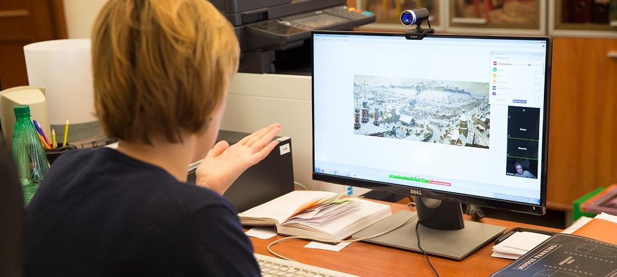 Интерактивная лекция «Древняя Рязань» в рамках проекта ГБУ «МДН».
