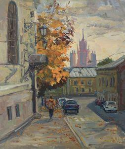 Осень в Колпачном переулке