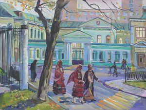 В день Республики Башкорстан около Московского дома национальностей