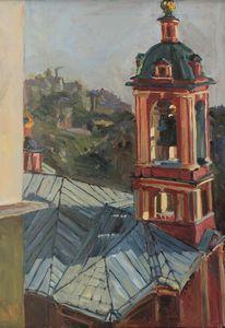 Солнце на Ирининских куполах