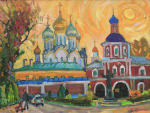 Москва. Зачатьевский монастырь