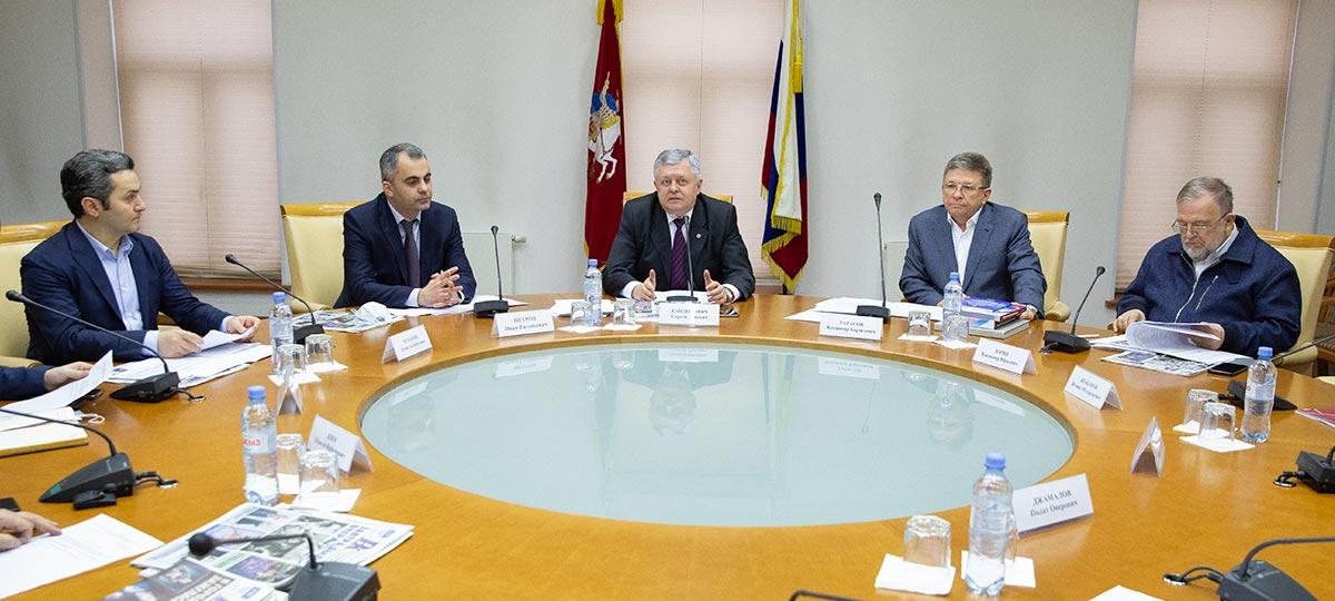 Заседание Общественного совета ГБУ «МДН» в рамках проекта «Институты гражданского общества»
