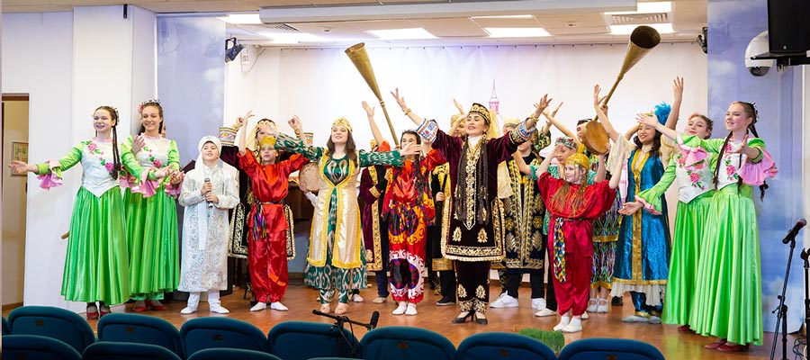 Концертная программа «Навруз» в рамках проекта «Национальные праздники»