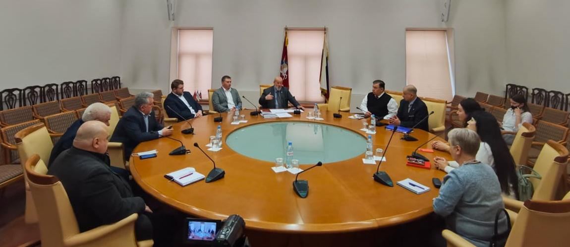 Комиссии по общественной безопасности и народной дипломатии Совета по делам национальностей при Правительстве Москвы. Заседание