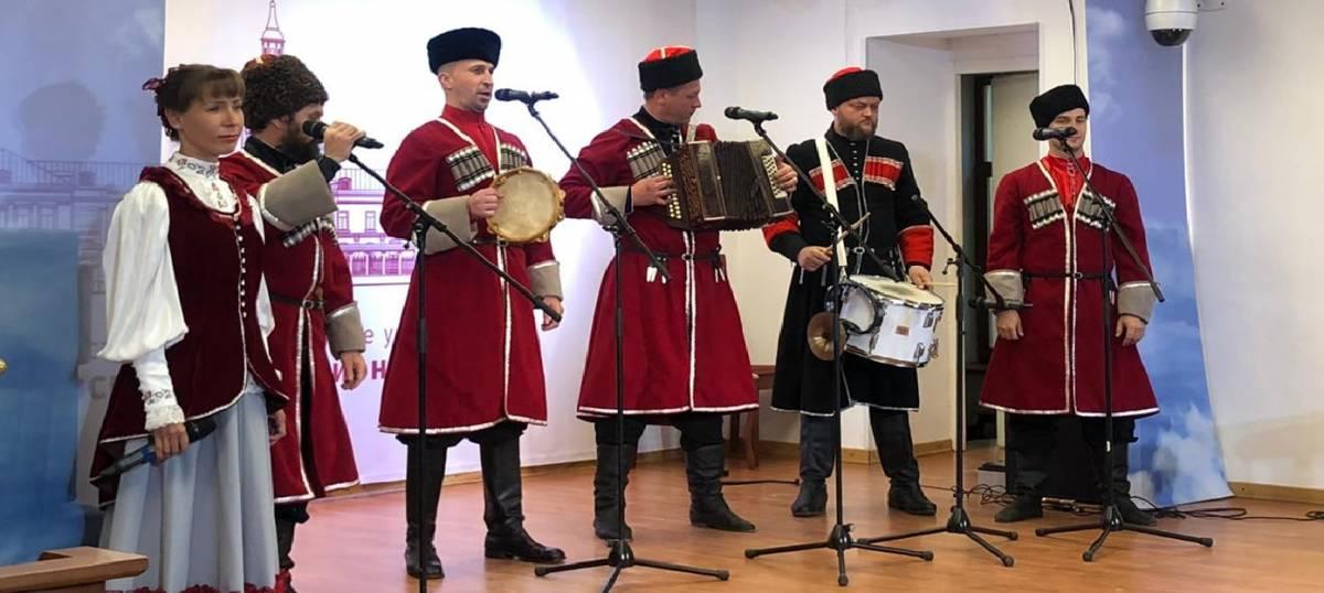 Концертная программа «Песенный перезвон» в рамках проекта «Этническая культура в условиях современности»