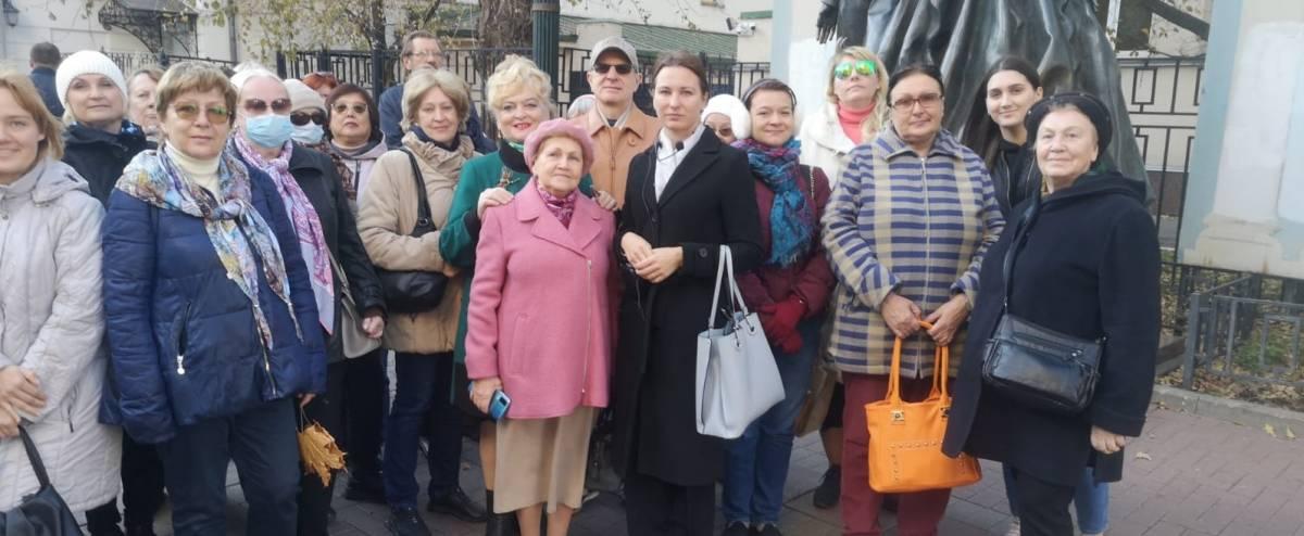 Автобусная экскурсия «Пушкинская Москва» в рамках проекта «Прогулки по многонациональной Москве»